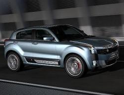 Qoros 2 SUV PHEV Concept. Фото Qoros