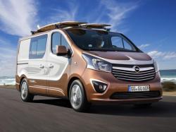Opel Vivaro Surf concept. Фото Opel