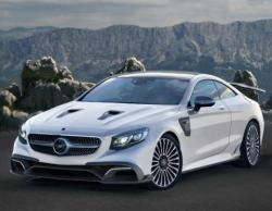 Mercedes-Benz S 63 AMG Coupe Mansory. Фото Mansory