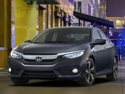 Honda Civic Sedan 2016. Фото Honda