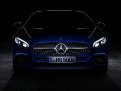Mercedes-Benz SL 2016. Тизер Mercedes-Benz