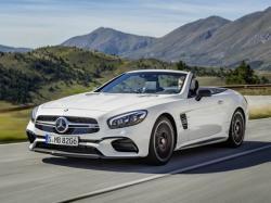 Mercedes-Benz SL.  Фото Mercedes