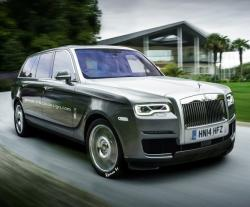 Rolls-Royce Cullinan. Рендер RM Design