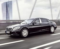 Mercedes Maybach S600 Guard. Фото Mercedes