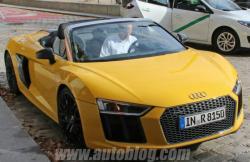 Audi R8 Spyder. Фото Autoblog