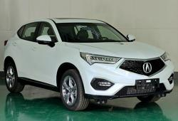 Acura СDX. Фото Car News China