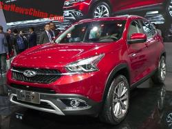 Chery Tiggo 7. Фото Car News China