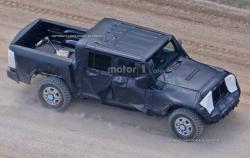 Пикап Jeep  Wrangler. Фото Motor1