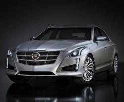 Cadillac CTS. Фото Cadillac