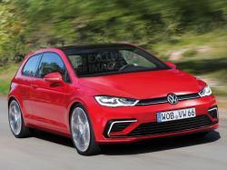 Volkswagen  Golf 2017. Рендер Autocar