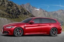 Универсал Alfa Romeo Giulia. Рендер Car and Driver