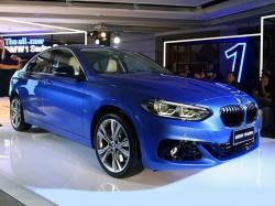 BMW 1-Series Sedan. Фото autohome.com