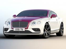 Bentley Continental Magenta Edition. Фото Bentley