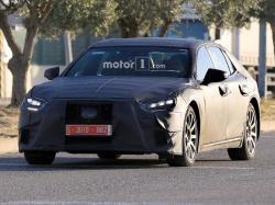 Lexus LS. Фото Motor1