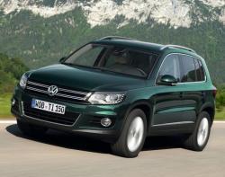 VW Tiguan. Фото VW