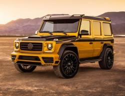Mercedes G-Class Mansory. Фото Mansory