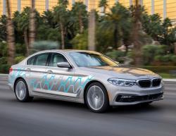 BMW 5-Series для CES. Фото BMW