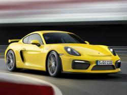 Porsche Cayman  GT4. Фото Porsche