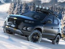 Новый Chevrolet Niva. Фото