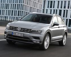 Volkswagen Tiguan 2016. Фото Volkswagen