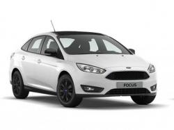 Ford Focus White and Black. Фото Ford