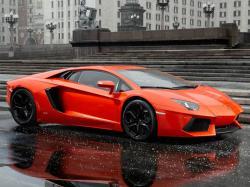Lamborghini Aventador. Фото Lamborghini