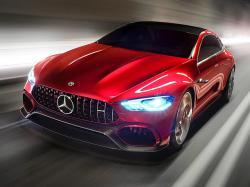 Mercedes-AMG GT Concept. Фото Mercedes-Benz