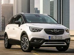 Opel Crossland X. Фото Opel