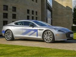 Aston Martin RapidE. Фото Aston Martin