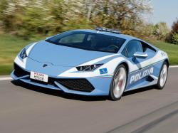 Lamborghini Huracan Highway Patrol. Фото Lamborghini