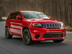 Jeep Grand Cherokee Trackhawk. Фото Jeep