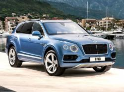 Bentley Bentayga V8 Diesel. Фото Bentley