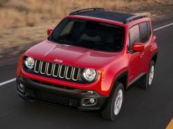 Jeep Renegade. Фото Jeep