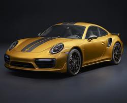 Porsche 911 Turbo S Exclusive Series. Фото Porsche
