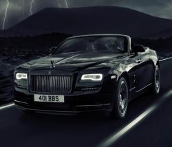 Rolls-Royce Dawn Black Badge. Фото Rolls-Royce