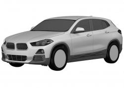 BMW X2. Патентный эскиз