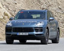 Porsche  Cayenne. Фото Carscoops