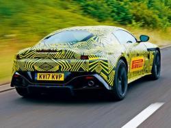 Aston Martin Vantage. Тизер Aston Martin
