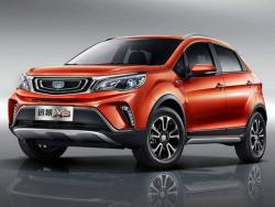 Geely Vision X3. Фото Geely