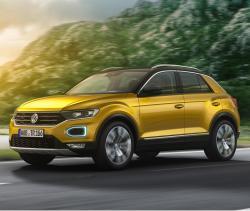 Volkswagen T-Roc. Фото VW