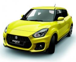 Suzuki Swift Sport 2017. Фото Suzuki