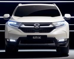 Honda CR-V 2018 EU. Фото Honda