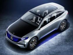 Mercedes-Benz EQ. Фото Mercedes-Benz