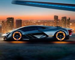Lamborghini Terzo Millennio. Фото Lamborghini