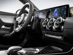 Интерьер Mercedes A-Class. Фото Mercedes-Benz