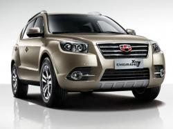 Geely Emgrand X7. Фото Geely