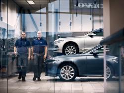 Персональный сервис Volvo. Фото компани Volvo