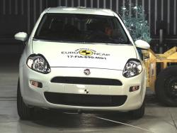 Краш-тесты Fiat Grande Punto. Фото Euro NCAP