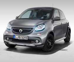Smart ForFour Crosstown. Фото Smart