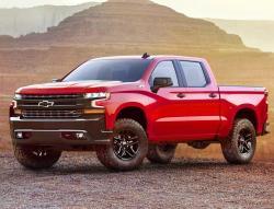 Chevrolet Silverado 2018.  Фото Chevrolet
